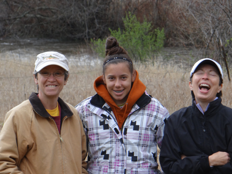 (L2R) Lynn, Kaitlin, and Gail