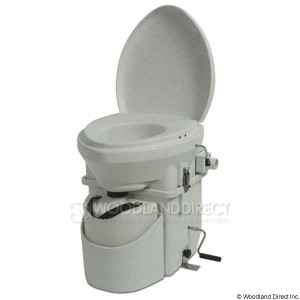 Dry Composting Toilet (click to enlarge)